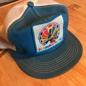 Vintage 70's Pittsburgh Paints 🦚 🌈 Snap Back Hat